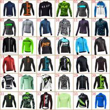 2020 Men's Cycling Jersey Bike Long Sleeve Tops Bicycle Shirts Maillots Jacket
