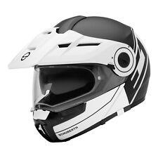 Reduziert Schuberth E1 Radiant White Klapphelm Motorradhelm mit Sonnenblende