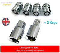 Locking Wheel Nuts 14x1.5 Bolts Tapered for Land Rover Freelander [Mk2] 06-14