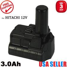 For HITACHI BCL1030 12V HXP BCL1015S 331065 3.0Ah Post Type Li-Ion Drill Battery