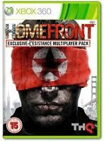 HOMEFRONT EXCLUSIVE RESISTANCE MULTIPLAYER PACK XBOX 360 *NEW & SEALED*