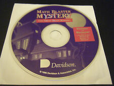 Math Blaster Mystery: The Great Brain Robbery (PC & Mac, 1996) - Disc Only!