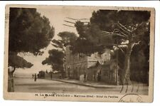 CPA-Carte postale- FRANCE - Hyeres -Plage - Maritima Hotel -1933 -S3448