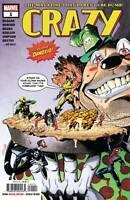 Crazy #1 Marvel Comic 1st Print 2019 unread NM