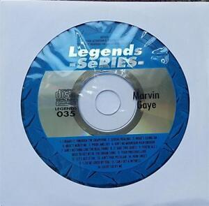 LEGENDS KARAOKE CDG MARVIN GAYE R&B SOUL OLDIES 035 14 SONGS CD+G MUSIC CD
