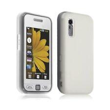Housse étui coque gel Samsung Player One S5230 couleur blanc