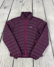 Patagonia Women's Purple Goose Down Insulated Quilted Sweater Jacket 84682 Sz XS