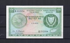 CHYPRE CYPRUS Billet de 500 Mils du 01/09/1979 P. N° 42c NEUF