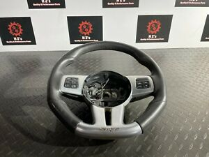 DODGE CHALLENGER SRT-8 6.4L 2011-2014 OEM LEATHER SPORT TRIM STEERING WHEEL