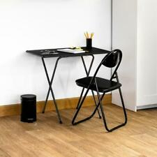 Small Wooden Folding Table Space Saving Portable Home/Office/Study Laptop Desk