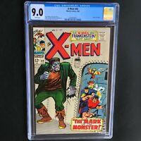 Uncanny X-Men #40 💥 CGC 9.0 💥 Origin of Cyclops! Frankenstein Cvr Marvel 1968