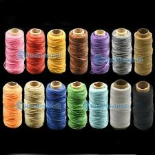 Sew hand Line Leather Craft Sewing Thread Cord Tensile Bags 14 Colors Thread T