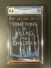 Something is Killing the Children 1 Cover A First Print CGC 9.6 3885114014