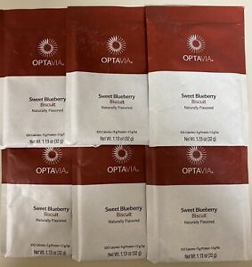 Optavia Sweet Blueberry Biscuit -6 Fuelings -Out Of Stock -Exp 8/24/2021