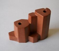 Playmobil Red Brown Rock Formation~3016 3040 3345 3870 3875 3878 4130 7272