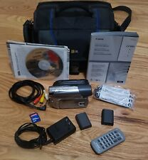 Canon Zr950 MiniDv Camcorder with Accessories (Tested - Works, Good Condition)