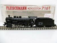 Fleischmann N 7161 Locomotora Vapor Br 3851 Negro el NS Ep.ii Top con Caja Orig.
