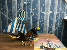 VINTAGE LEGO 6274 CARIBBEAN CLIPPER PIRATE SHIP 100% COMPLETE w/ instructions