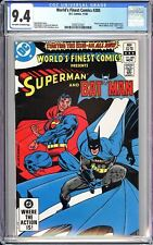 World's Finest Comics #285 CGC 9.4 OWW 1982 3702127021 RARE Atari insert