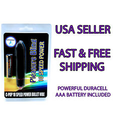 Relax Powerful Small Black Vibe - Multi-Speed Waterproof Vibrator Bullet Sex Toy