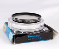49mm Samigon Multicoated Optical Glass UV protection  lens  Filter