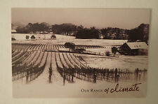 Our Range of Climate - Macedon Ranges - Collectable - Vintage - Postcard.