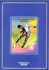 """Folder filatelico 14 - """" Lazio Campione D'Italia 1999-2000 """" 2000"""