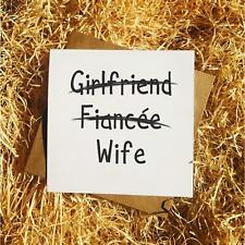 Girlfriend Fiancee Wife - Wedding Greeting Card