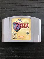 The Legend of Zelda Ocarina of Time N64 Nintendo 64 Authentic OEM Tested