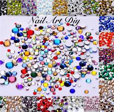 250-300 Brillantini-STRASS-Nail Art DIY-Misura SS4-SS16-Decorazione Unghie