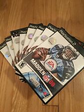 EA SPORTS NFL MADDEN 08 - PS2 - COMPLETE W/MANUAL - FREE S/H (X)