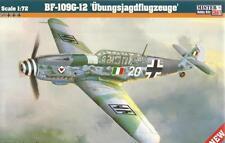 MESSERSCHMITT Bf-109 G-12 (ITALIAN & LUFTWAFFE MKGS) 1/72 MISTERCRAFT LIMITED ED