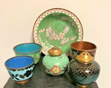 Small Collection of Cloisonne Items