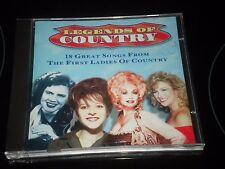Légendes De Country - Album CD - 1997 - 18 Excellents Songs - Artistes Divers