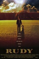 Rudy Original Movie Poster Double Sided 27x40