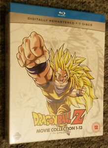 Dragon Ball Z Movie Complete Collection: Movies 1-13 + TV Specials - Blu-ray Box