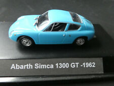 Abarth Simca 1300 GT -1962- in Vitrine #3506