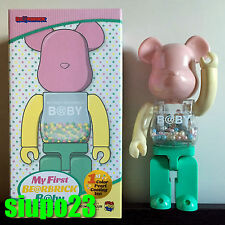 Medicom 400% Bearbrick ~ My First Baby 1st Rainbow Be@rbrick Medicom Toy Plus