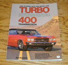 How to Work With & Modify the Turbo Hydra-Matic 400 Transmission Book R Sessions