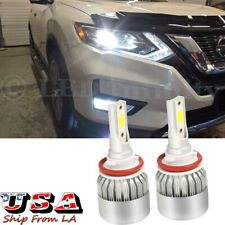 H11 H9 Led Headlight Bulb Low Beam 6000K Pure White For Nissan Infiniti Qx30 50 (Fits: Infiniti)