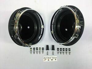 "MORRIS MINOR 7"" HEADLIGHT BOWLS -Inc Retaining Ring,Adjusters and Gaskets"