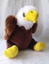 GANZ Webkinz EAGLE Plush Stuffed HM214 Bird ~NO CODE~ Retired