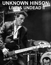 NEW UNKNOWN HINSON Live & Undead II SIGNED Limited Edition CD
