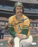 Rollie Fingers Signed 8x10 Photo JSA COA Autograph Oakland Athletics #2