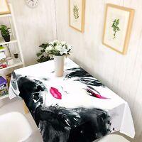 3D Woman Tablecloth Table Cover Cloth Birthday Party AJ WALLPAPER UK Lemon