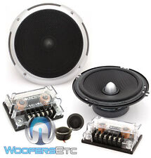 "SOUNDSTREAM PF.6 CAR 6.5"" 100W RMS COMPONENT SPEAKERS TWEETERS CROSSOVERS NEW"
