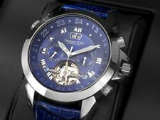 "Calvaneo 1583 ""ASTONIA PLATIN PACIFIC"" Gigantische platinierte Automatik Uhr"