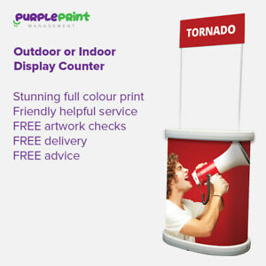 Pop Up Counter - Indoor or Outdoor  Plinth  Promotion kiosk - Exhibition Display