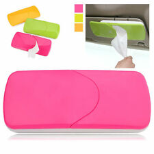 Auto Accessories Car Sun Visor Tissue Box Paper Napkin Holder with Tissue