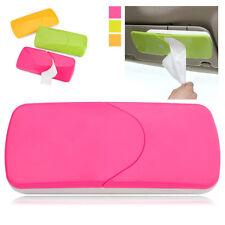 Auto Accessories Car Sun Visor Tissue Box Paper Napkin Holder with Tissue